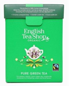 English Tea Shop, Herbata sypana, Pure Green Tea, 80 g