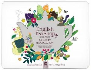 English Tea Shop, Herbata BIO Zestaw Luxury Tea Collection, 36 saszetek