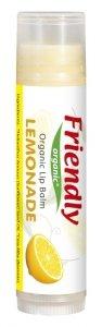 Friendly Organic, Organiczny balsam do ust Lemoniada, 4,25g