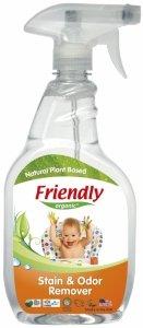 Friendly Organic, Odplamiacz i eliminator zapachów, 650 ml