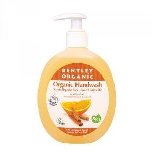 Bentley Organic, ODŻYWIAJĄCE Mydło w Płynie z Cynamonem, Słodką Pomarańczą i Goździkami, 250 ml