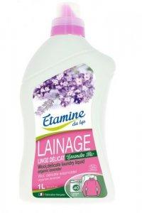 Etamine du Lys, Płyn do prania delikatnych tkanin i wełny Organiczna Lawenda, 1000 ml