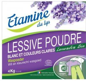 Etamine du Lys, Proszek do prania tkanin białych i o trwałych kolorach organiczna lawenda, 4000 g