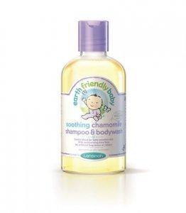 Earth Friendly Baby, Organiczny szampon i płyn do mycia 2w1 o zapachu Rumianku, 250ml