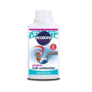 Płyn do udrażniania rur zatkanych włosami zawiera naturalne enzymy 250 ml