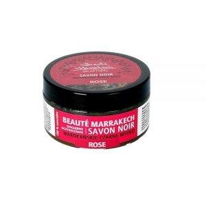 Czarne mydło Savon Noir z olejem różanym 100g