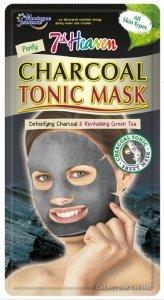 7th heaven - Charcoal Tonic Mask oczyszczająca maseczka węglowa w płachcie do każdego typu cery 1szt