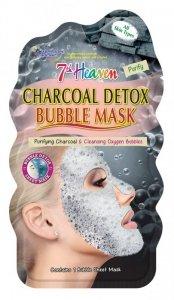 7th heaven - Charcoal Detox Bubble Mask detoksykująca węglowa maseczka bąbelkowa w płachcie do każdego typu skóry 1szt