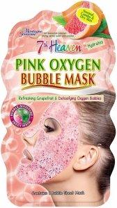 7th heaven - Pink Oxygen Bubble Mask nawilżająca maseczka bąbelkowa w płachcie 1szt