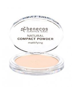 Benecos - Natural Compact Powder naturalny puder w kompakcie Porcelanowy 9g