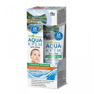 Fito cosmetics - Aqua krem do twarzy głębokie odżywienie cera normalna i mieszana Brzoskwinia i Ekstrakt z Nagietka 45ml