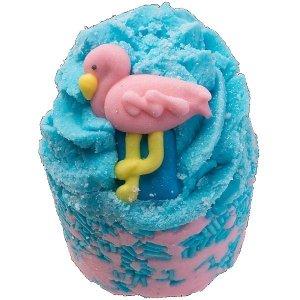 Bomb cosmetics - Flamingoals Bath Mallow maślana babeczka do kąpieli 50g