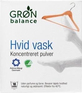 Gron balance - Koncentreret Pulver proszek do prania tkanin białych 785g