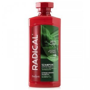 Farmona - Radical Strenghtening Shampoo szampon wzmacniający do włosów osłabionych i wypadających Ekstrakt ze Skrzypu Polnego 400ml