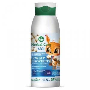 Farmona - Herbal Care Kids kremowa emulsja do mycia Kwiat Bawełny 400ml