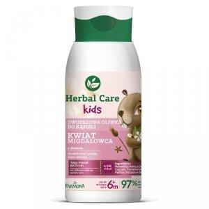 Farmona - Herbal Care Kids dwufazowa oliwka do kąpieli Kwiat Migdałowca 300ml
