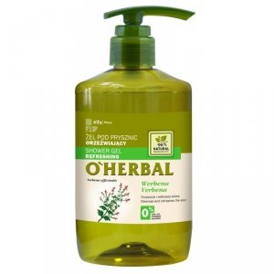 O'herbal - Shower Gel Refreshing żel pod prysznic orzeźwiający z ekstraktem z werbeny 750ml