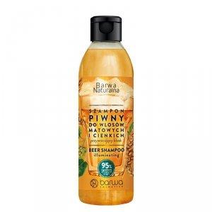 Barwa - Naturalna szampon piwny do włosów matowych i cienkich 300ml
