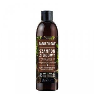Barwa - Ziołowa szampon ziołowy do włosów osłabionych i z łupieżem Czarna Rzepa 250ml
