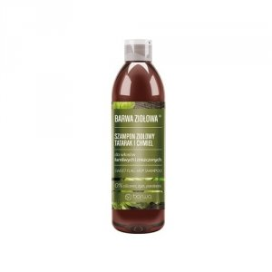 Barwa - Ziołowa szampon ziołowy do włosów łamliwych i zniszczonych Tatarak i Chmiel 250ml