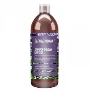 Barwa - Ziołowa szampon ziołowy do włosów przetłuszczających się ze skłonnością do łupieżu Lawenda 480ml