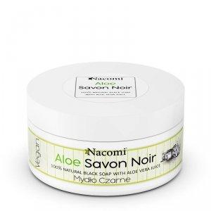 Nacomi - Aloe Savon Noir aloesowe czarne mydło z sokiem z aloesu 125g