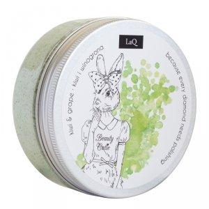 Laq - Wash and Scrub peeling myjący do ciała Kiwi i Winogrona 200ml