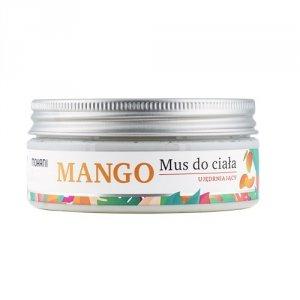 Mohani - Wild Garden ujędrniający mus do ciała Mango 120g