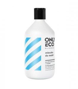 Onlyeco - Glicerin mleczko do czyszczenia i pielęgnacji mebli 500ml