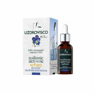 Uzdrovisco - Roślinnie Aktywne serum przeciw niedoskonałościom Fiołek 30ml