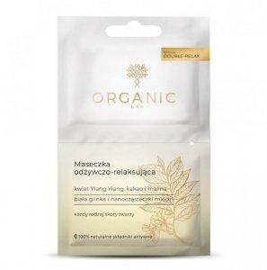 Organic lab - Maseczka odżywczo-relaksująca do każdego rodzaju cery kwiat Ylang Ylang Kakao i Malina 2x6ml