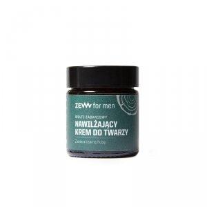 Zew for men - Multi-zadaniowy nawilżający krem do twarzy z czarną hubą 30ml
