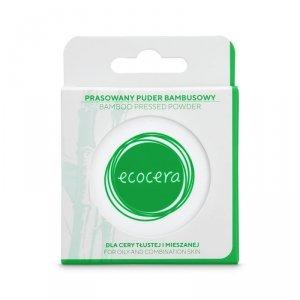 Ecocera - Bamboo Pressed Powder prasowany puder bambusowy dla cery tłustej i mieszanej 10g