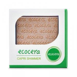 Ecocera - Shimmer Powder puder rozświetlający Capri 10g