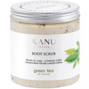 Kanu nature - Body Scrub peeling do ciała Zielona Herbata z Rumiankiem 350g