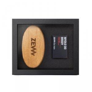Zew for men - Zestaw Pakiet Brodacza mydło do brody 85ml + Szczotka Brodacza szczotka do profesjonalnej pielęgnacji zarostu