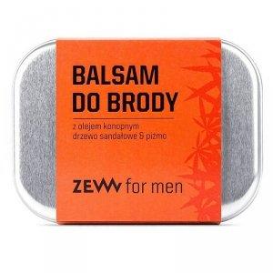 Zew for men - Balsam do brody z olejem konopnym – drzewo sandałowe i piżmo 80ml