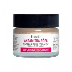 Iossi - Aksamitna Róża krem regenerująco-nawilżający do twarzy acerola & róża & algi 15ml