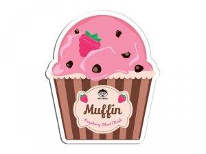 Dr. mola - Raspberry Muffin Sheet Mask rewitalizująco-nawilżająca maseczka w płachcie 23ml