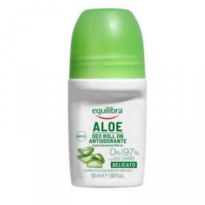 Equilibra - Aloe Gentle Deo-Roll On aloesowy dezodorant w kulce 50ml