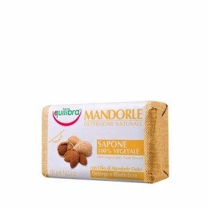 Equilibra - Mandorle Soap mydło w kostce Słodkie Migdały 100g