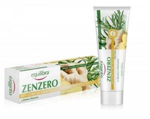 Equilibra - Zenzero Toothpaste odświeżająca pasta do zębów Imbir 75ml
