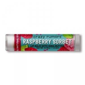 Crazy rumors - Naturalny balsam do ust Raspberry Sorbet 4.4ml