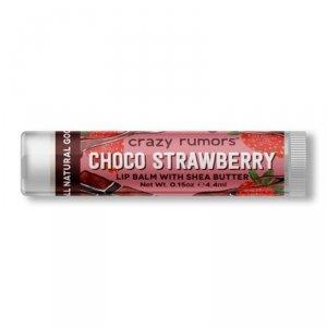 Crazy rumors - Naturalny balsam do ust Choco Strawberry 4.4ml