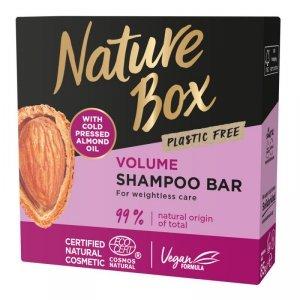 Nature box - Shampoo Bar szampon do włosów w kostce Almond Oil 85g