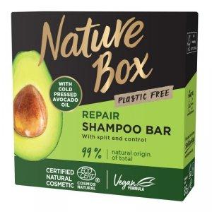 Nature box - Shampoo Bar szampon do włosów w kostce Avocado Oil 85g