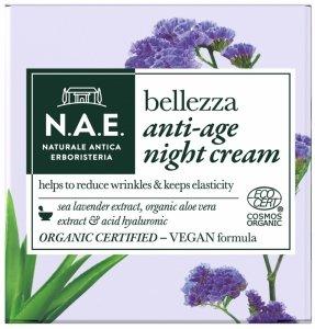 N.a.e - Belezza Anti-Age Night Cream krem do twarzy przeciw oznakom starzenia na noc 50ml
