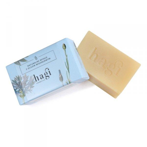 Hagi, Naturalne mydło z olejem migdałowym, 100g