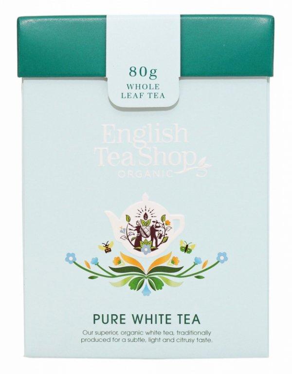 English Tea Shop, Herbata sypana, Pure White Tea, 80 g
