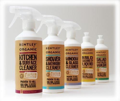 Bentley Organic, Łagodny Płyn do Mycia Naczyń, 100% Naturalny, 75% Organiczny, 500 ml